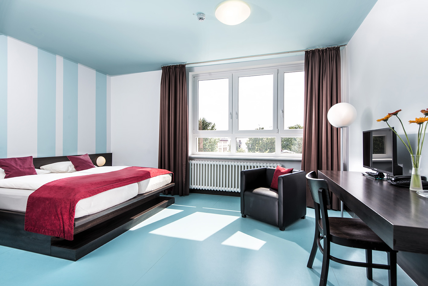 Classic room with doulbe bed